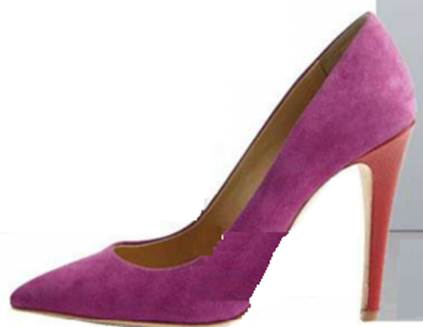 Description: Diane Von Furstenberg Suede shoes