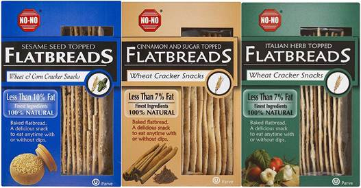 Description: Mixed Seed topped No-No Flatbreads