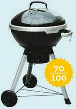 Description: Outback cook dome 702 charcoal barbecue