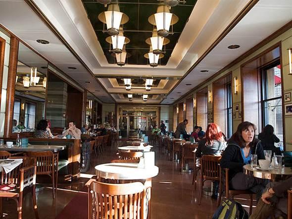 Description: Café Slavia's