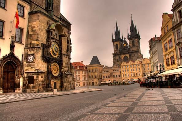 Description:   The Old Town Square