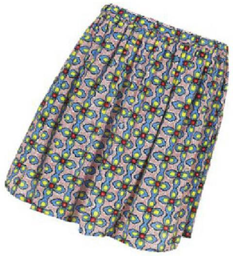 Description: Topshop cherry blossom skirt