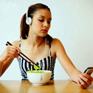 Description: Not having meal temperately can cause stomachache.