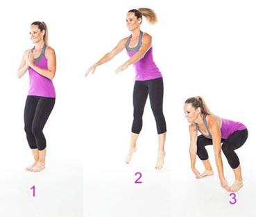 Description: Flexing movements