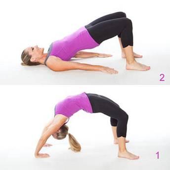 Description: Back-bending movements