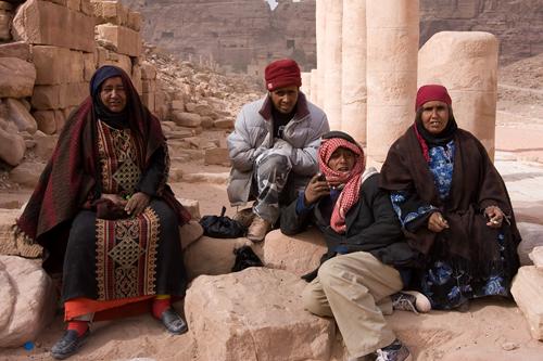 Description: the home of a Bedouin family