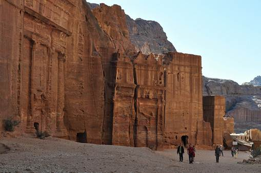 Description: The ancient city of Petra