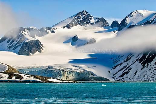 Description: the island of Spitsbergen in the Svalbard archipelago