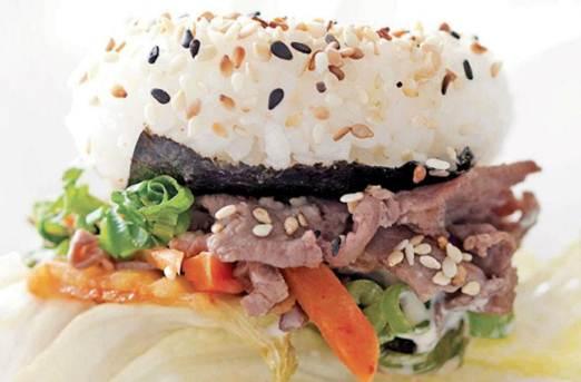 Description: Description: Rice burgers
