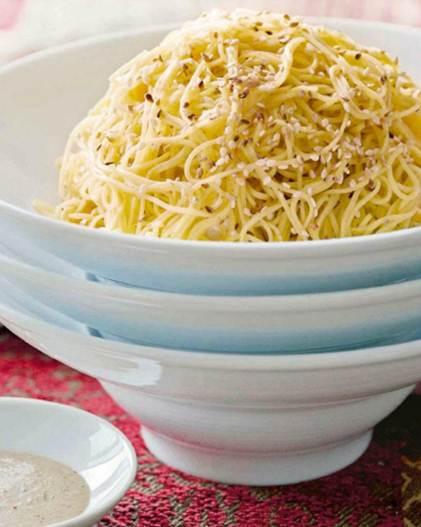 Description: Description: Peanut summer noodles