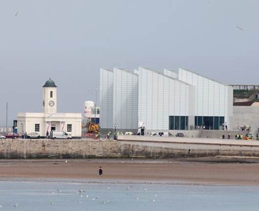 Description: the Turner Contemporary gallery, in Margate