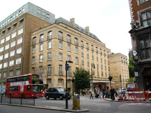 Description: The Berkeley hotel, London