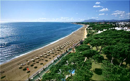 Description: Marbella beach