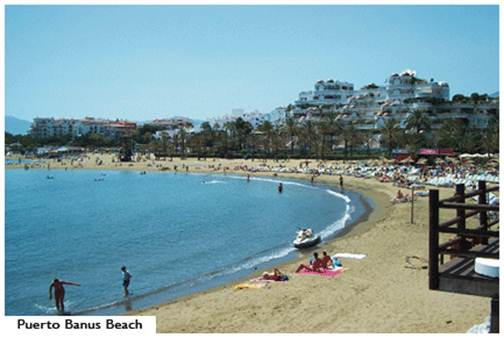 Description: Puerto Banús Beach