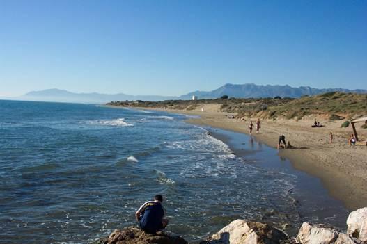 Description: Cabopino beach