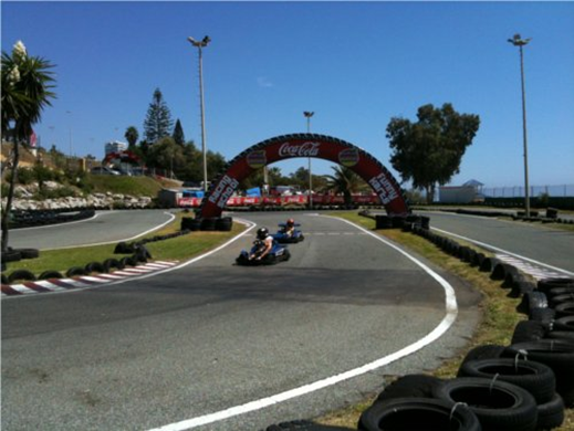 Description: Go Karting at Funny Beach in Marbella