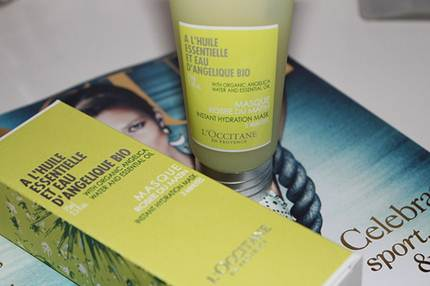 Description: L'Occitane Angelica Instant Hydration Mask