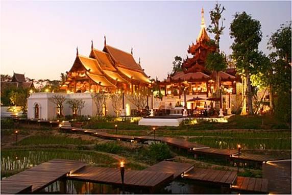 Description: Mandarin Oriental Dhara Dhevi, Thailand