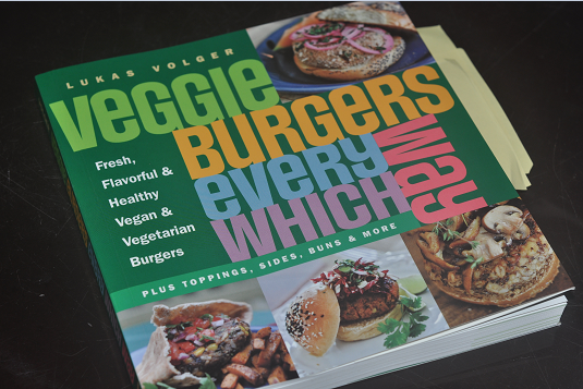 Description:  Veggie Burgers Every Which Way by Lukas Volger