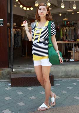Description: The simple ways to mix clothes but bring dynamic, youthful looks…