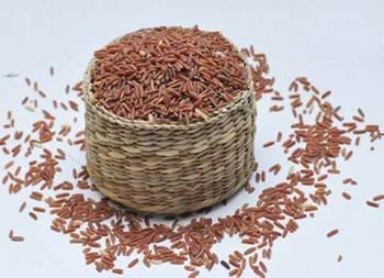 Description: Raw rice