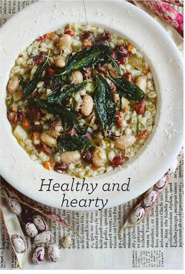 Description: Description: Gennaro Contaldo's Barley and Bean Soup
