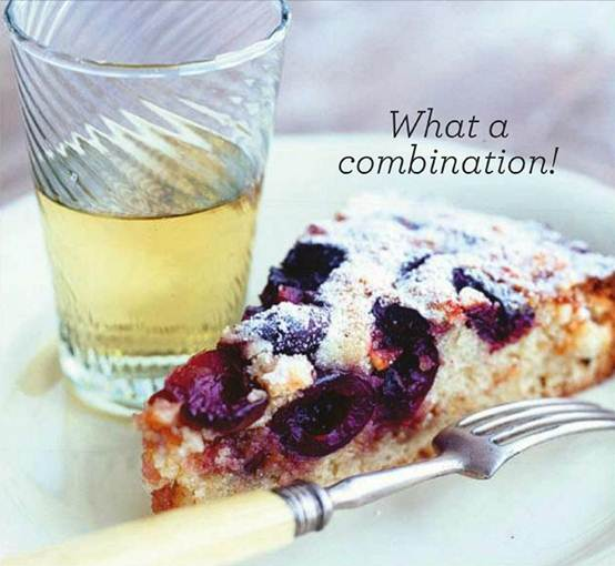 Description: Description: Deborah Madison's Cherry and Almond Cake