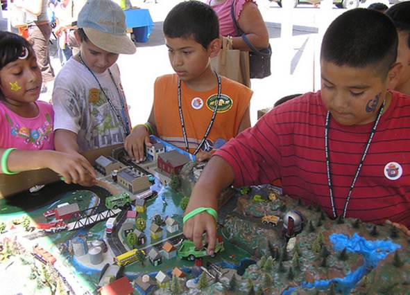 Description: Description: These findinds suggest that it's still important to encourage kids to get outdoors and that, outside a lab, video games may not get young hearts pumping.g