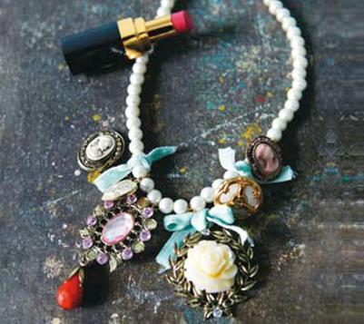Description: Baroque Necklace