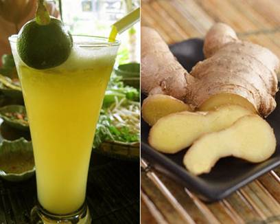 Description: Mixing sugarcane juice and ginger cures morning sickness effectively
