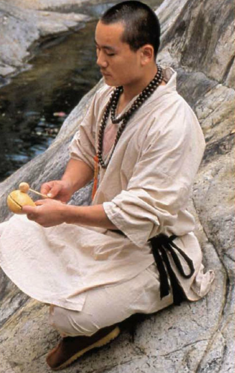 Description: A Shaolin monk