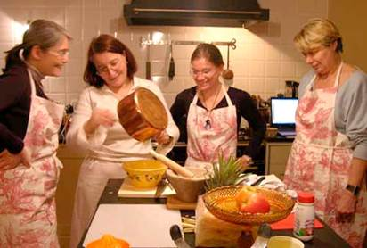 Description: Cooking may bring happiness