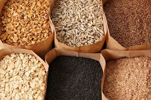Description: these foods contain a wider variety of healthy grains