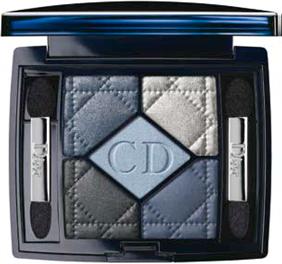 Description: 1. Dior 5 Colour Eye Shadow Palette in Bleu de Paris