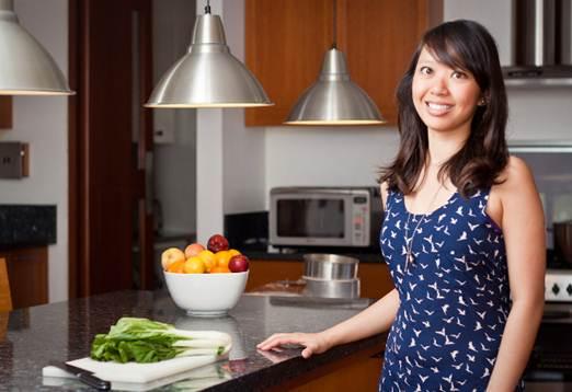Description: Marie Gonzalez, chef and owner, kitchen revolution