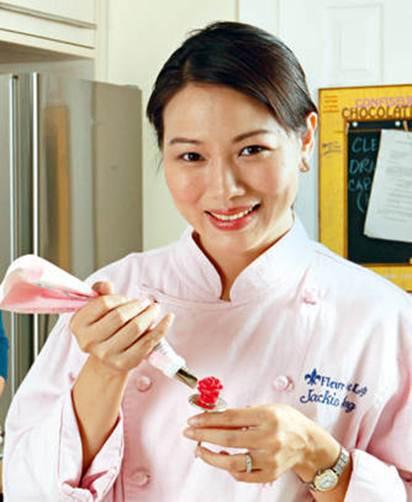 Description: Jackie Ang-Po, chef and owner, Fleur De Lys Patisserie