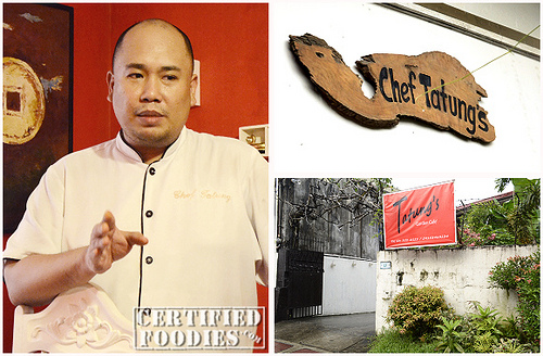 Description: Myke 'Tatung' sarthou, chef and owner, chef tatung's