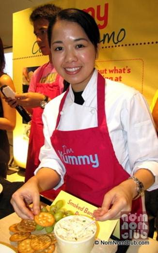Description: Rachelle Santos, food editor