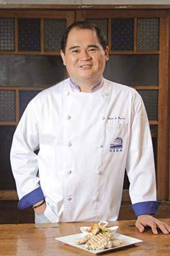 Description: Description: Jun Jun De Guzman, chef and instructor