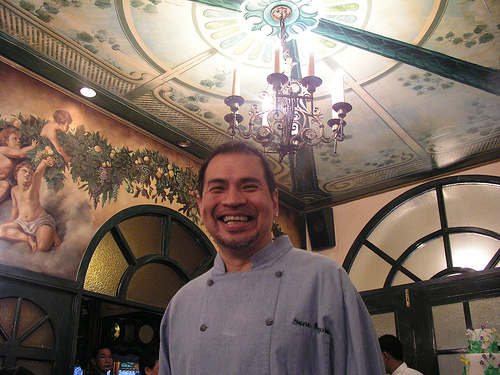 Description: Description: Gene Gonzalez, owner and chef, café Ysabel