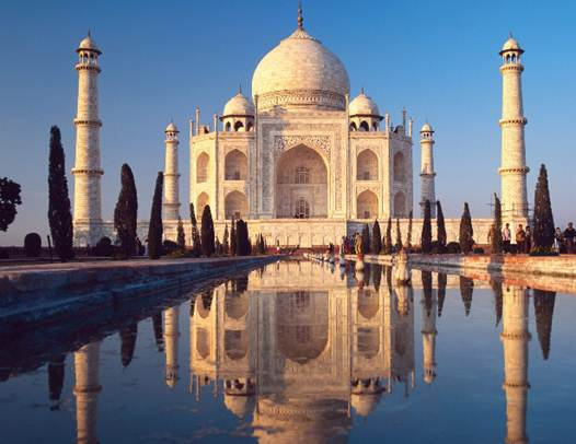 Description: The Taj Mahal