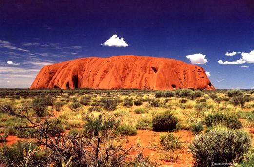 Description: Ayers rock/ Uluru