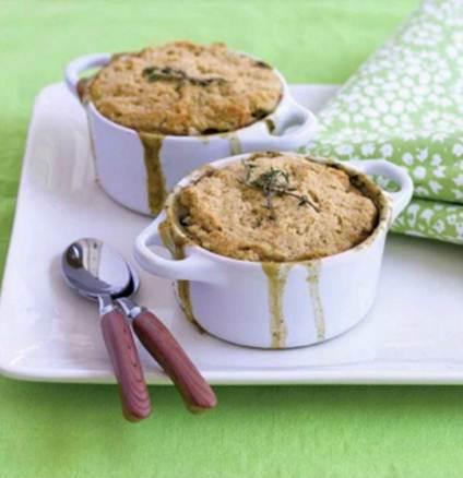 Description: Vegetable pot pie