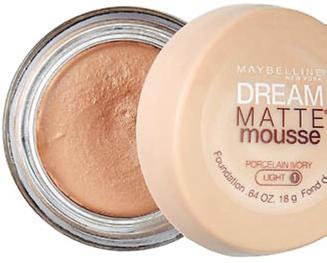 Description: 3. Maybelline Dream Matte Mousse Foundation, $10