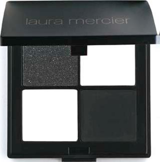 Description: Laura Mercier Eye Color Quad in Tuxedo