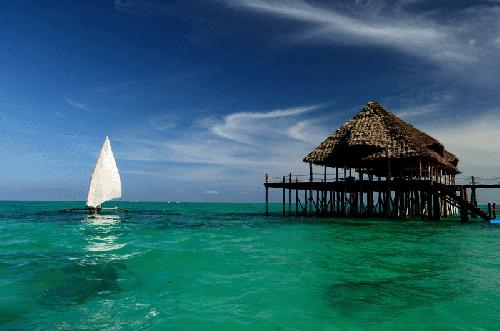 Description: Zanzibar is a hot spot for honeymoons, so why not for weddings too?