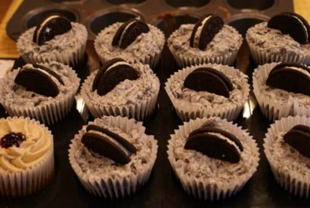 Description: Oreo cupcakes