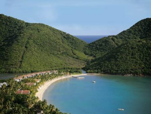 Description: Carlisle Bay in Antigua