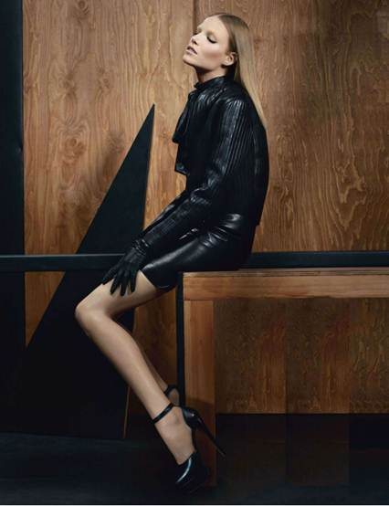 Description: luxuriate in Lanvin's sophisticated ribbing for a moment