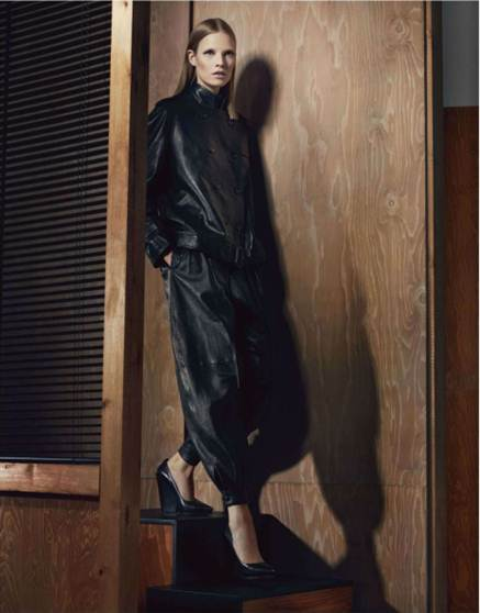 Description: Work Givenchy's leather with ease (canny ankle cuffs will curtain bulk)